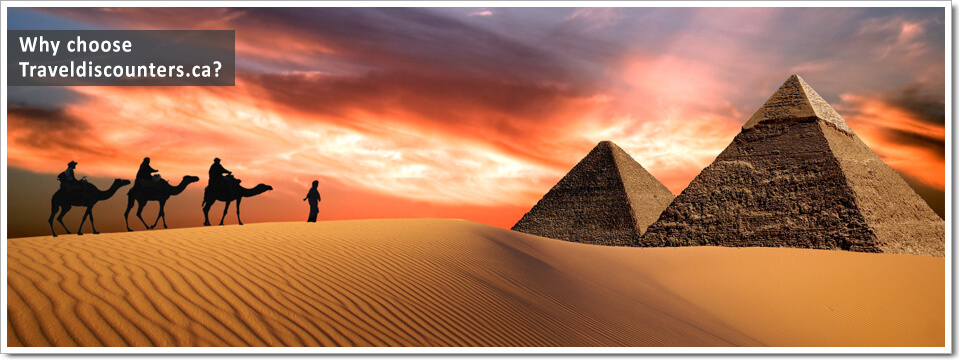 Travel Discounters Egypt Tour